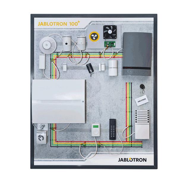 PI-PT100+ Školicí panel JA-100+