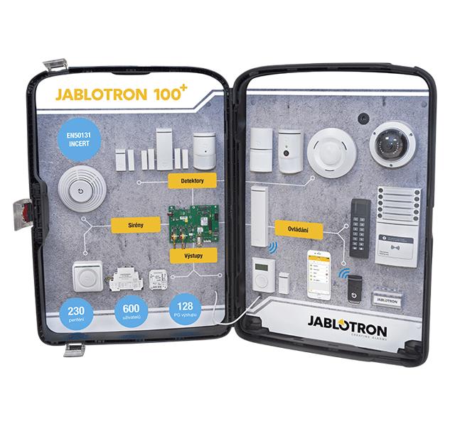 PI-CZCASE100+ Prezentační kufr JABLOTRON 100+ - CZ verze