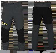 Pánské softshellové kalhoty - velikost 56