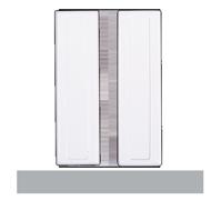Magnetický dveřní kontakt (NC)