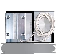 Kontakt magnetický šroubovací kovový N.C. kabel
