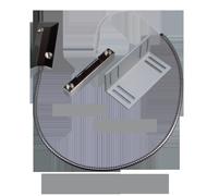 Kontakt magnetický vratový N.C. pancéřový kabel