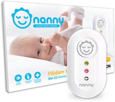 Le moniteur respiratoire Nanny garde vos êtres chers   Jablotron 5b9318e6f9f